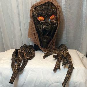 Woodsmen Halloween Scary Spooky Mask w/ Hands 🍂🍁